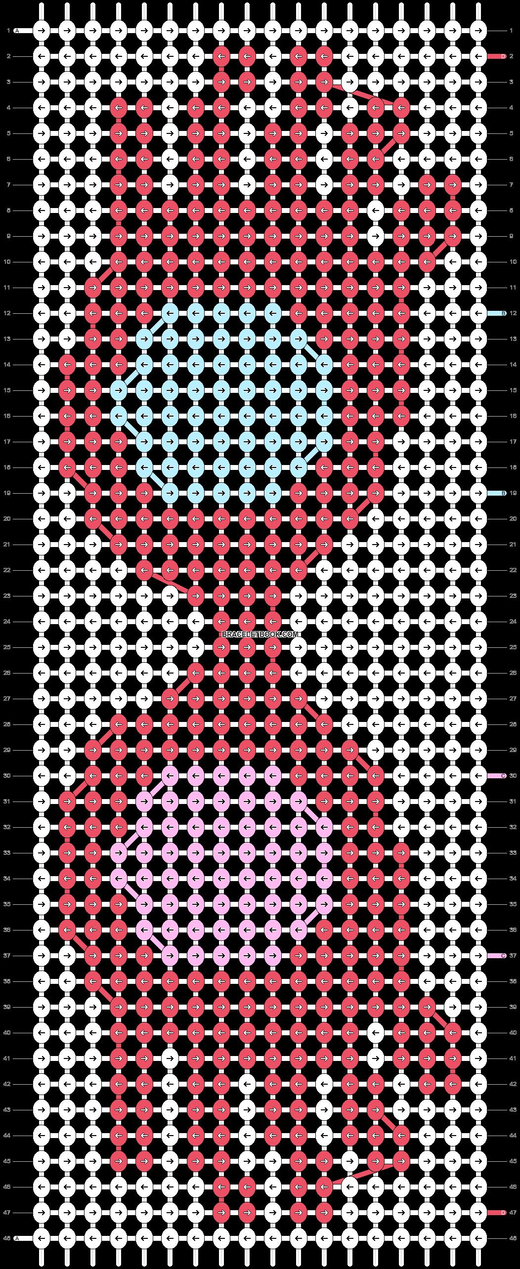 Alpha pattern #54325 pattern