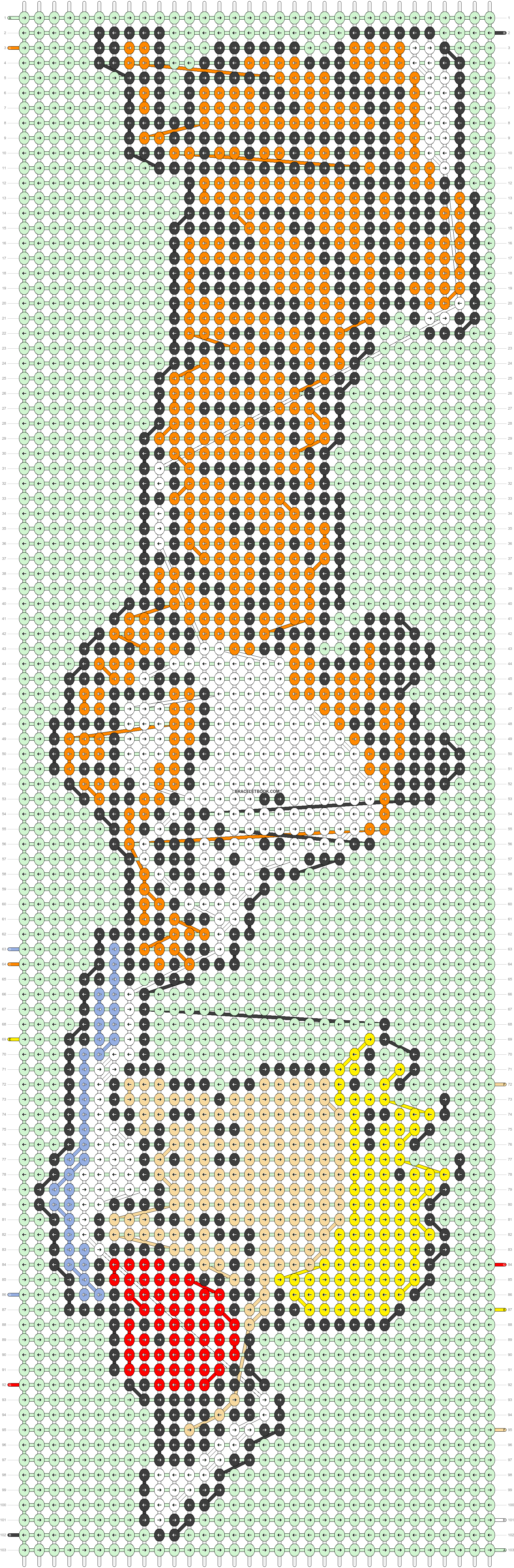 Alpha pattern #54332 pattern