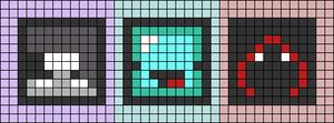 Alpha pattern #54340