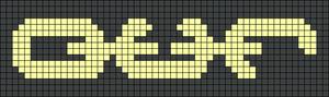 Alpha pattern #54343