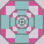 Alpha pattern #54345