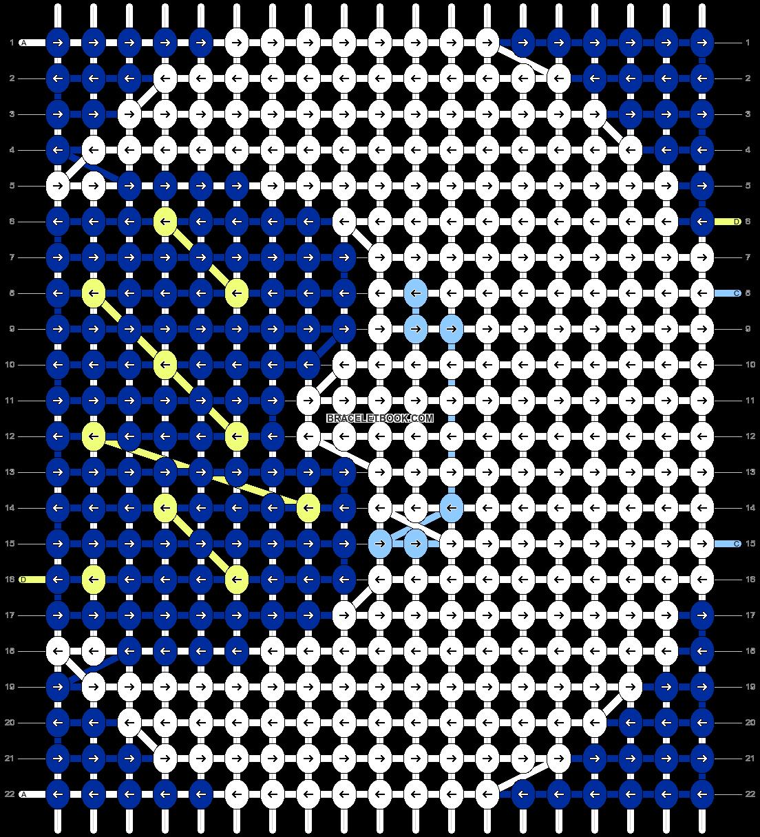 Alpha pattern #54356 pattern
