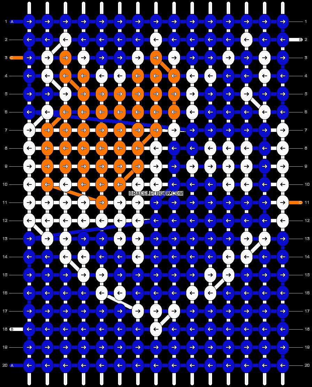 Alpha pattern #54366 pattern