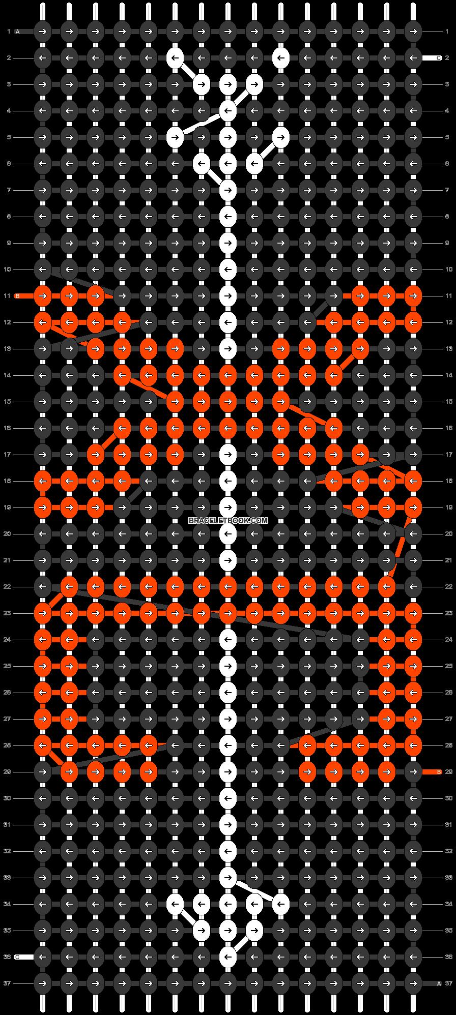 Alpha pattern #54370 pattern