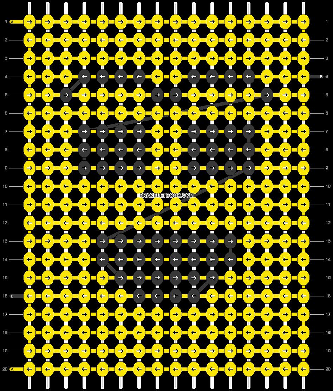 Alpha pattern #54372 pattern