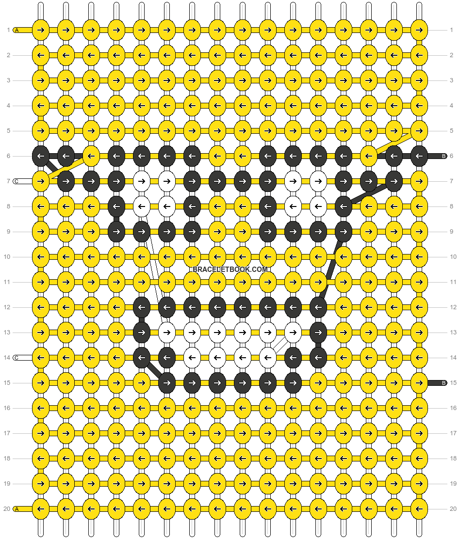 Alpha pattern #54373 pattern