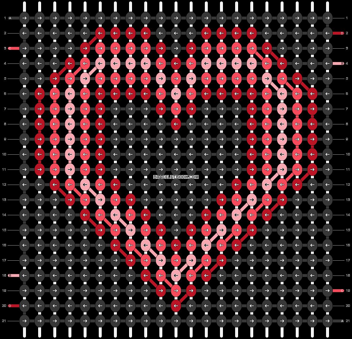 Alpha pattern #54378 pattern
