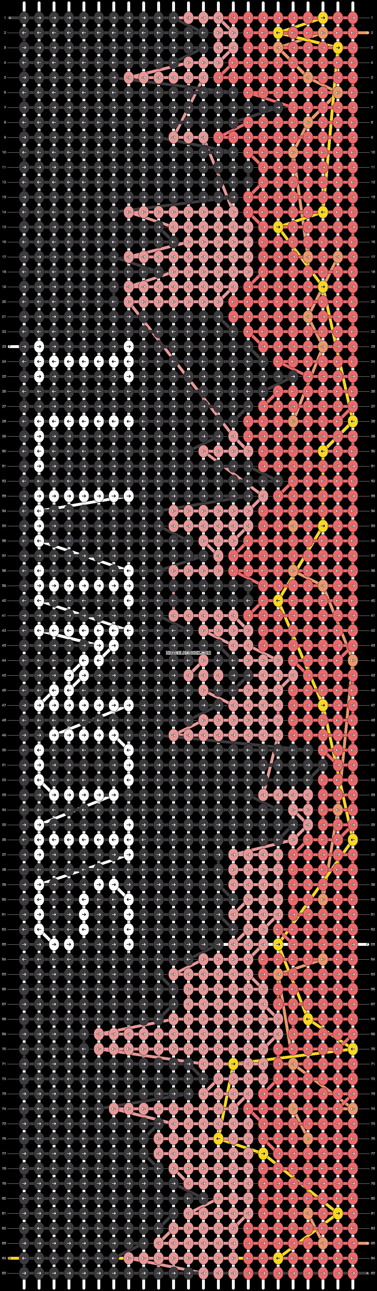 Alpha pattern #54400 pattern