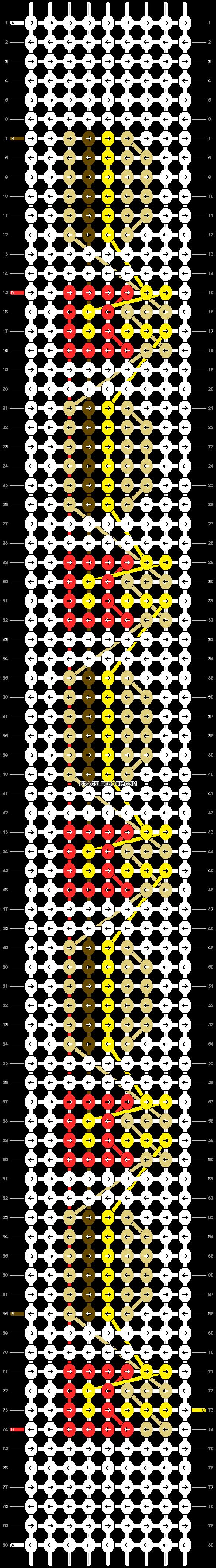 Alpha pattern #54401 pattern