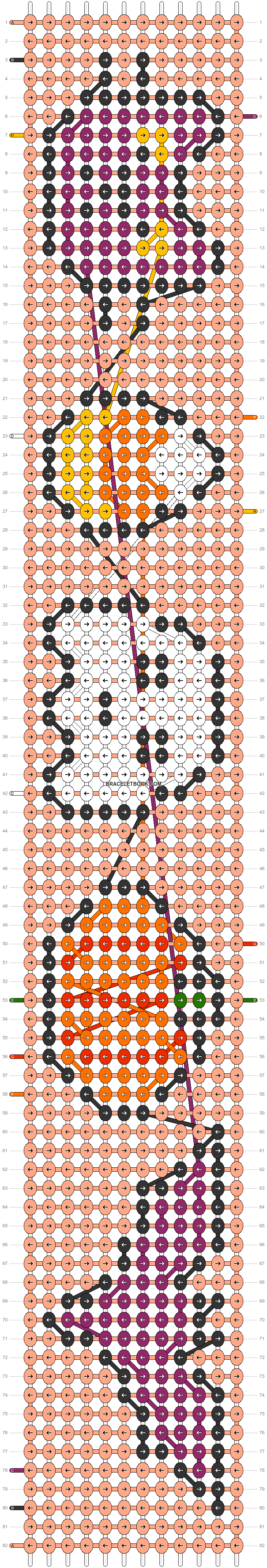 Alpha pattern #54404 pattern