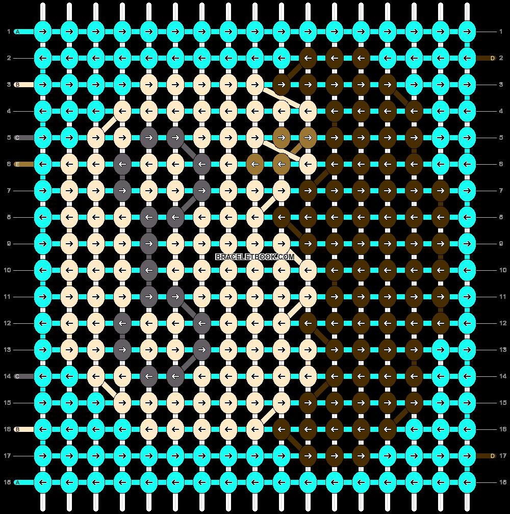 Alpha pattern #54407 pattern