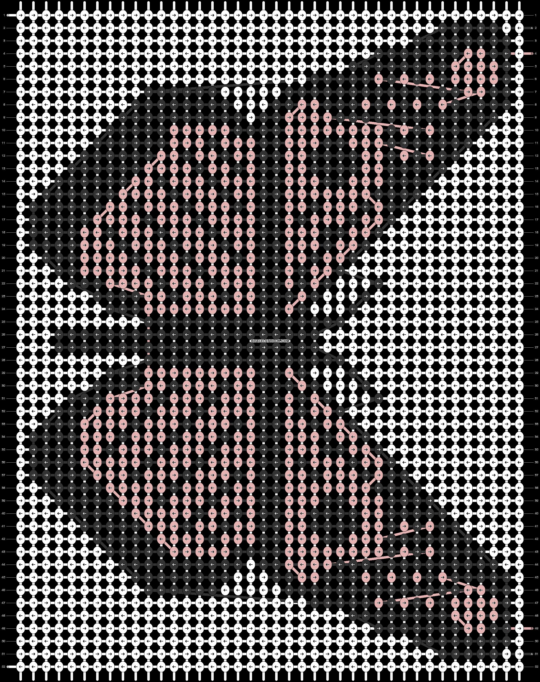 Alpha pattern #54433 pattern