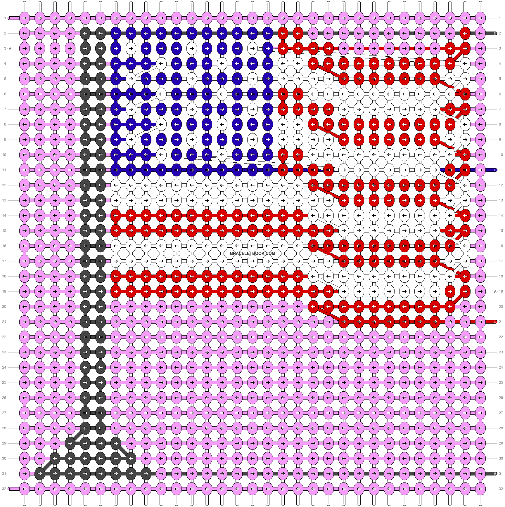 Alpha pattern #54435 pattern