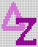 Alpha pattern #54444