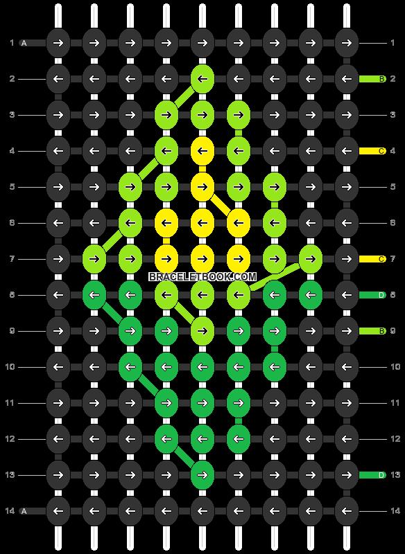 Alpha pattern #54445 pattern