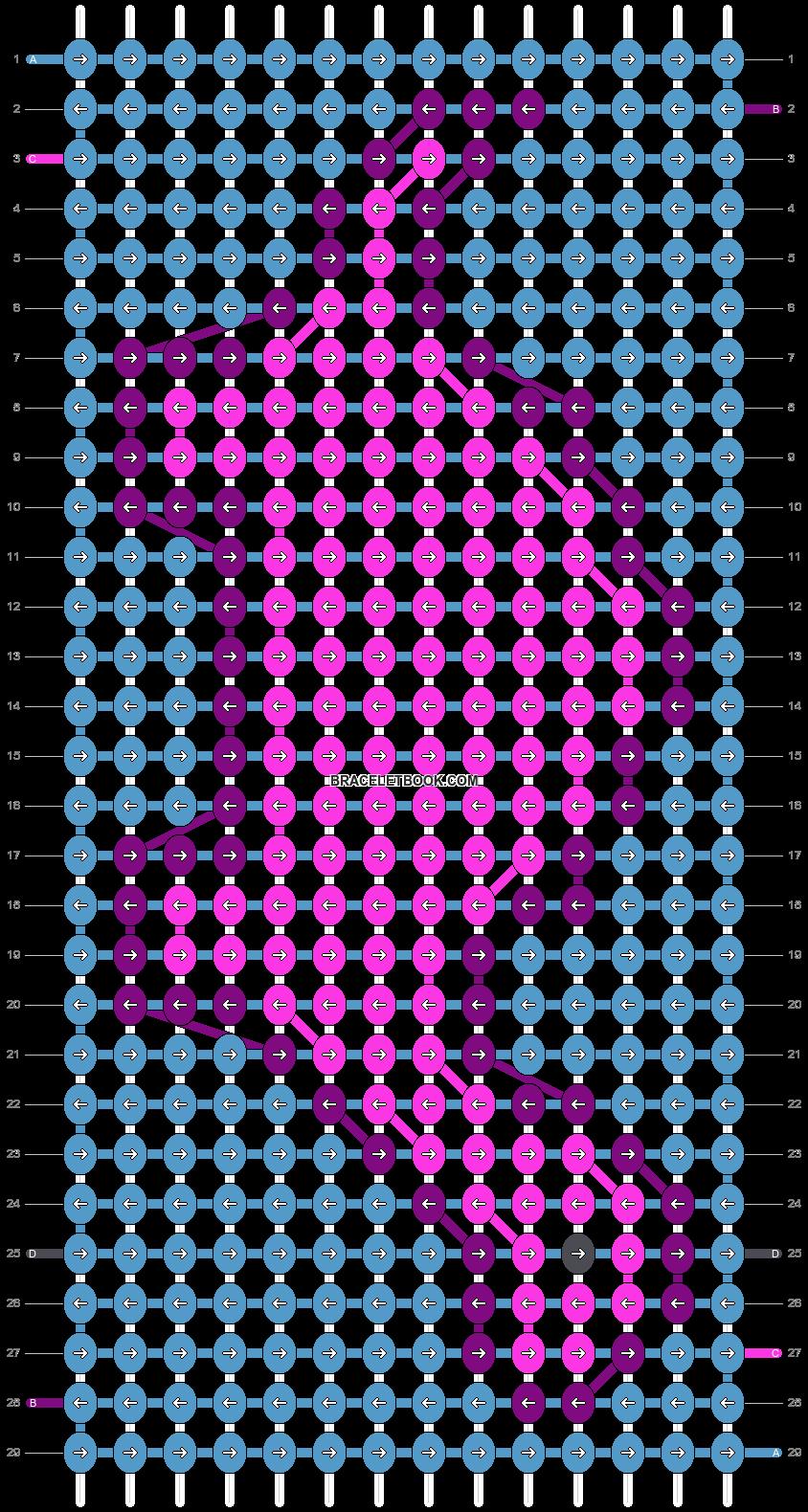 Alpha pattern #54448 pattern