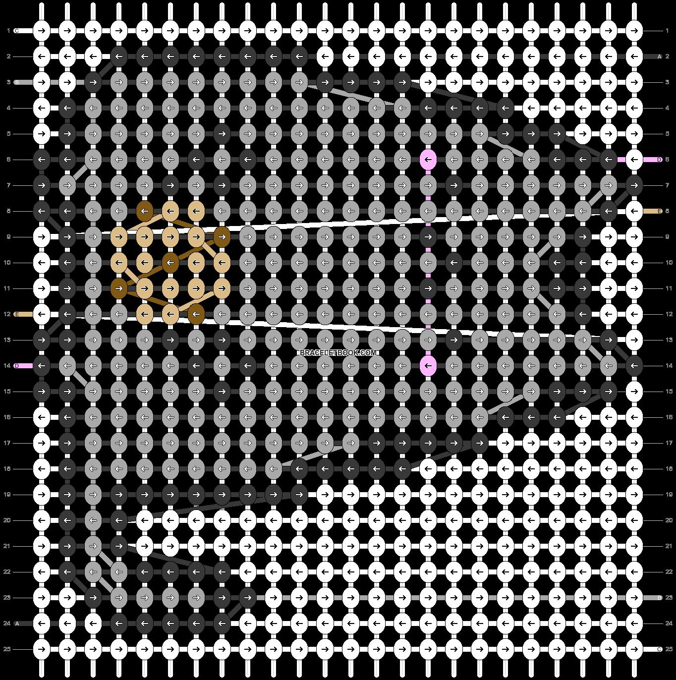 Alpha pattern #54457 pattern