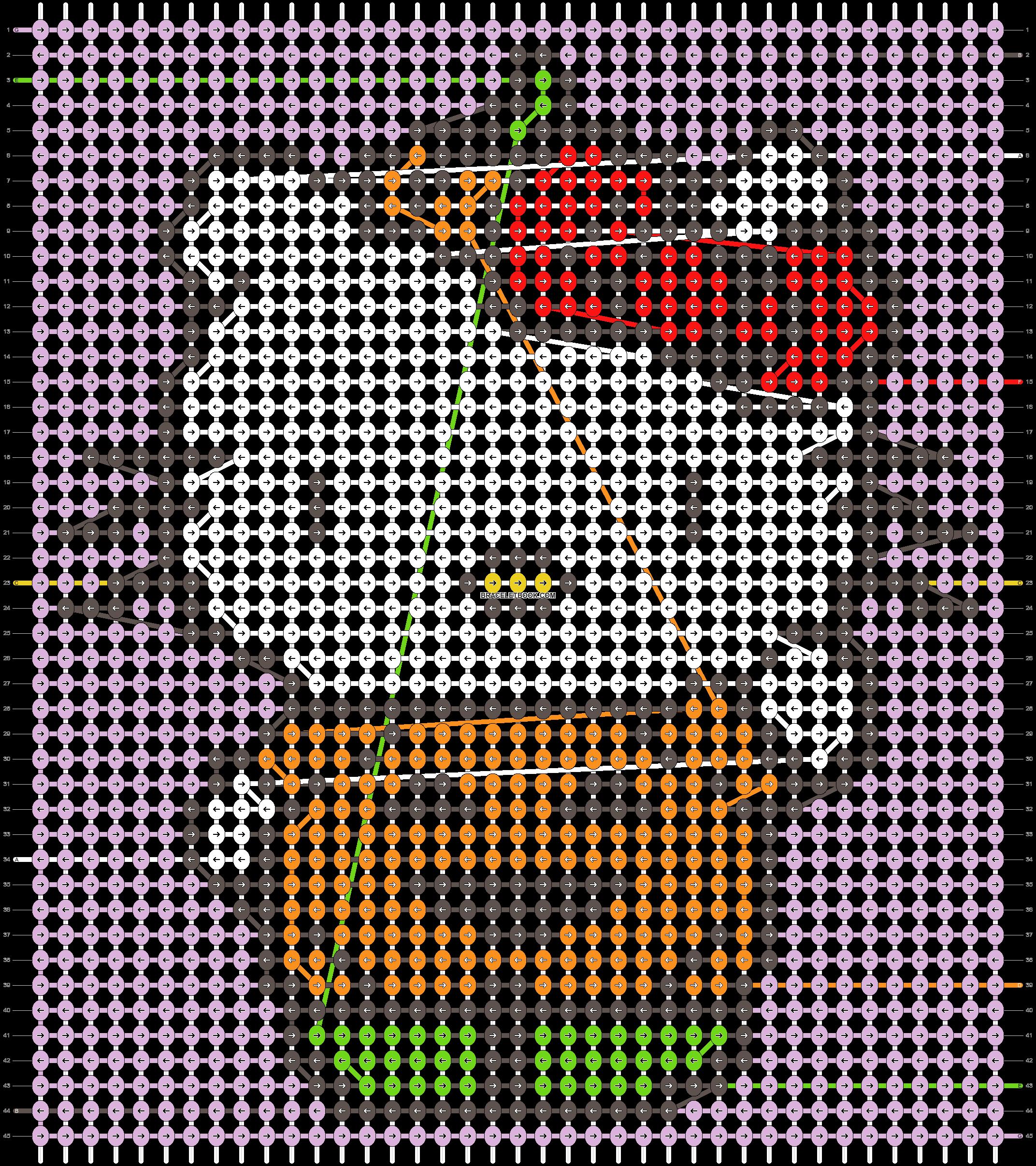 Alpha pattern #54458 pattern