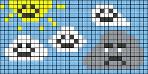 Alpha pattern #54468