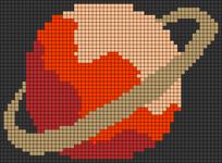 Alpha pattern #54478
