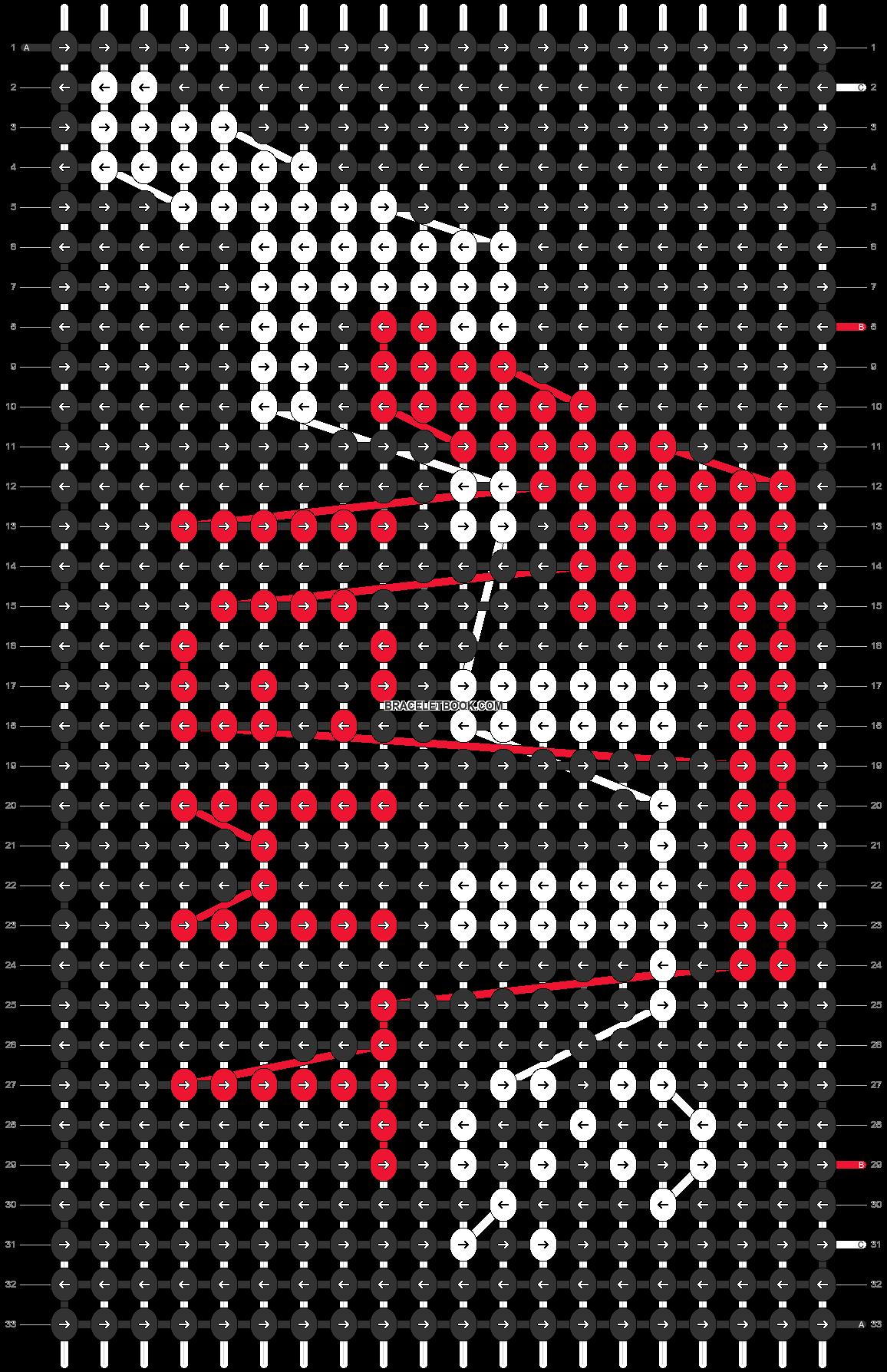 Alpha pattern #54481 pattern