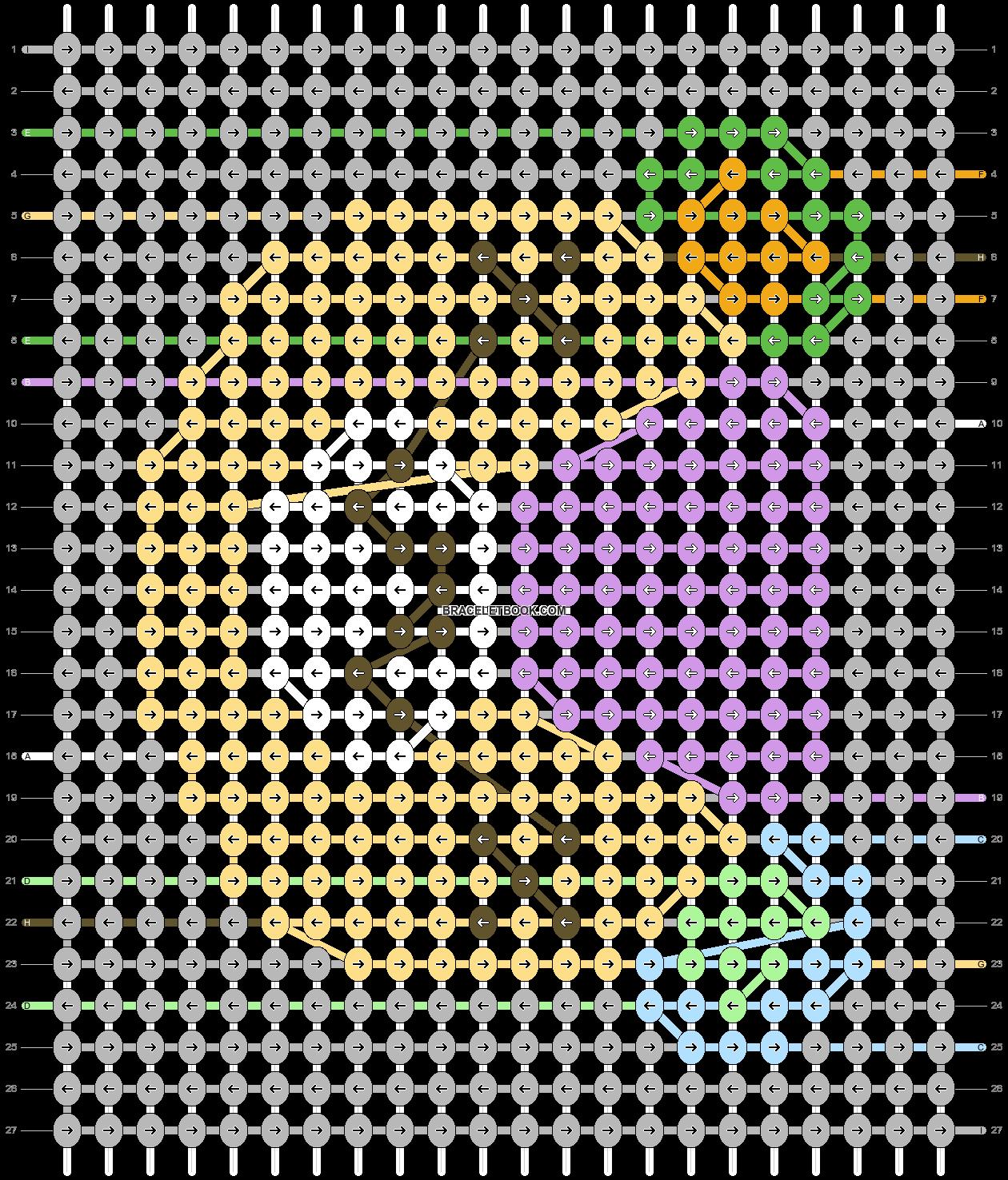 Alpha pattern #54484 pattern