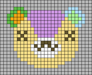 Alpha pattern #54484