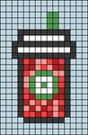 Alpha pattern #54485