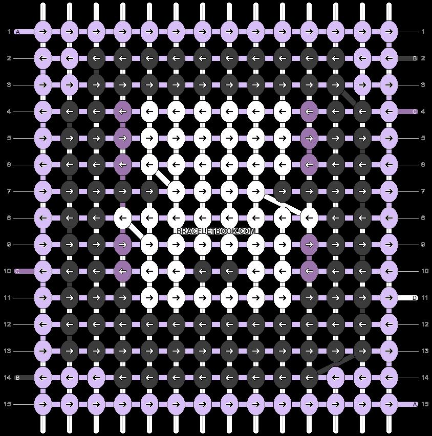 Alpha pattern #54488 pattern
