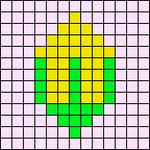 Alpha pattern #54492