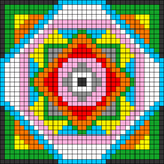 Alpha pattern #54507