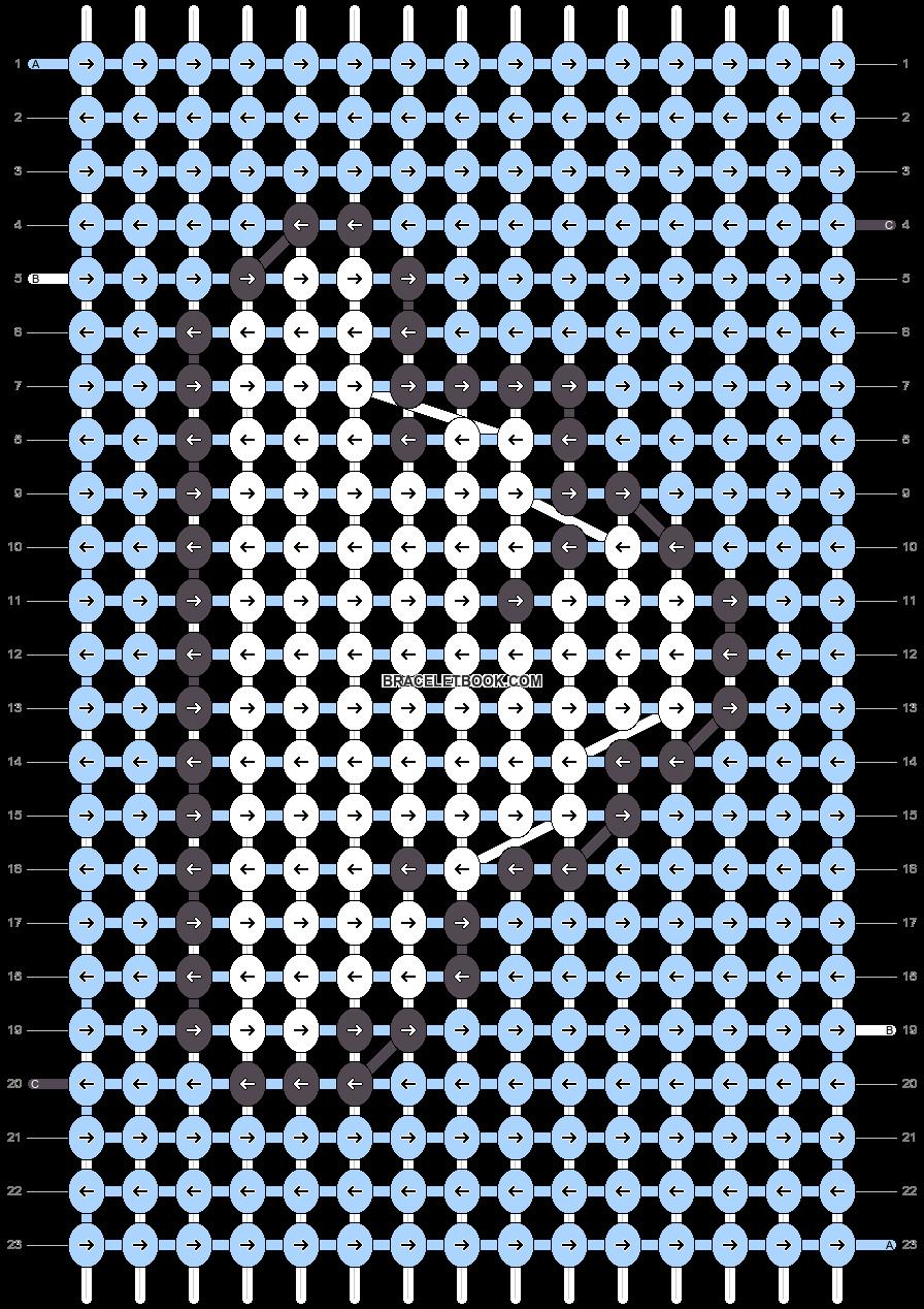 Alpha pattern #54508 pattern