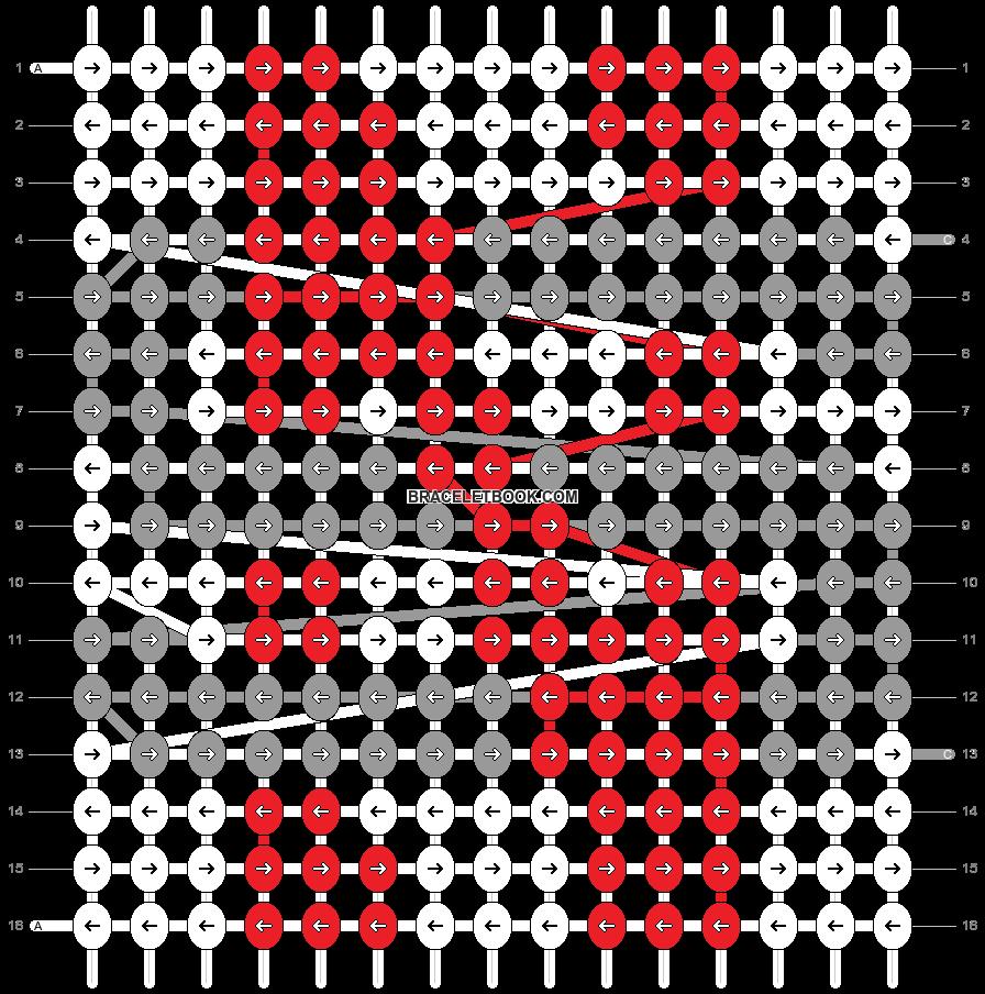 Alpha pattern #54510 pattern