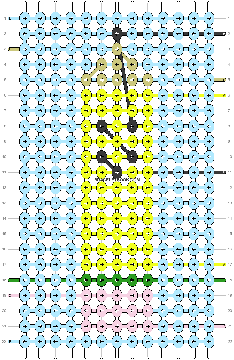 Alpha pattern #54516 pattern