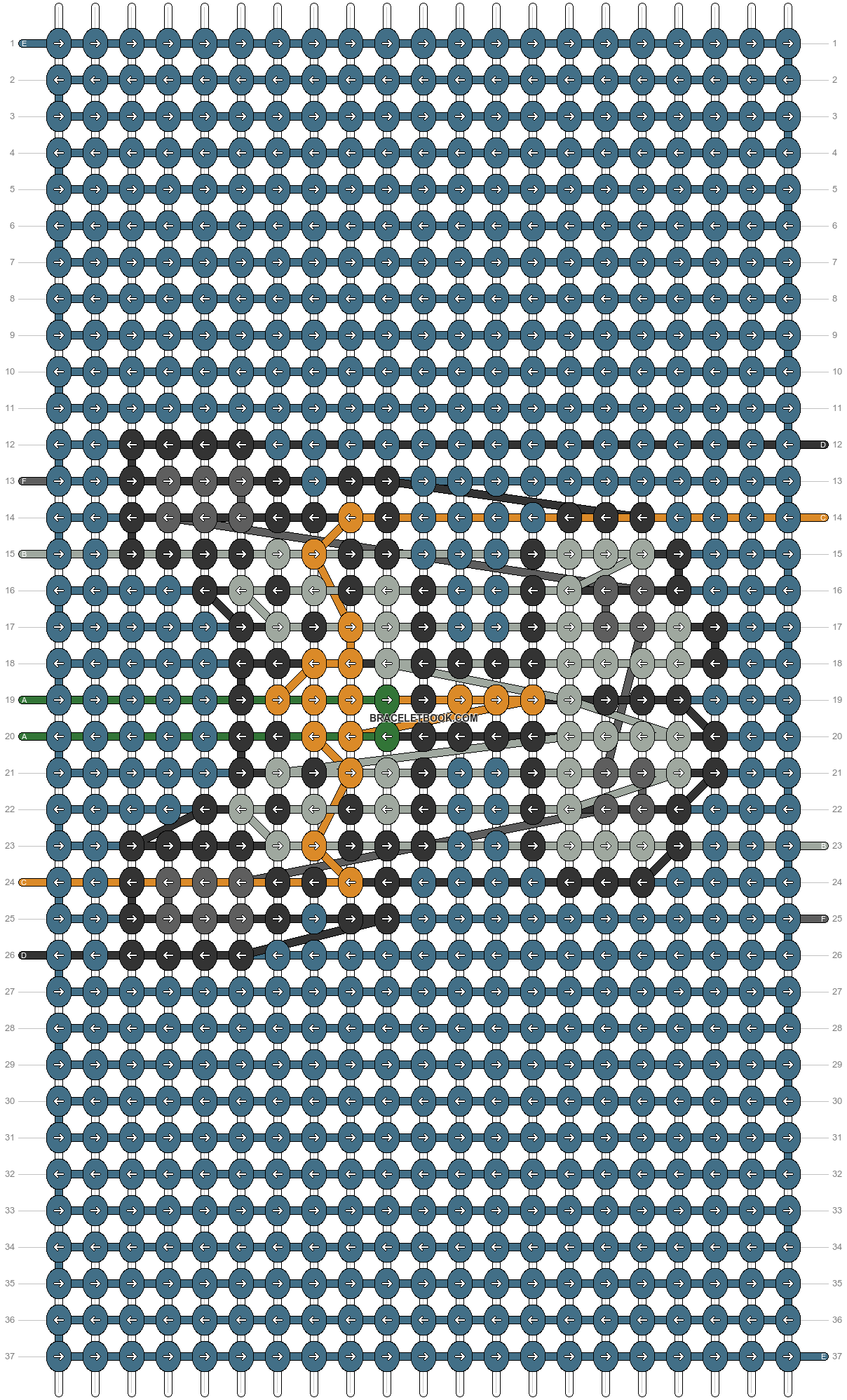 Alpha pattern #54522 pattern