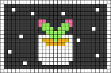 Alpha pattern #54523