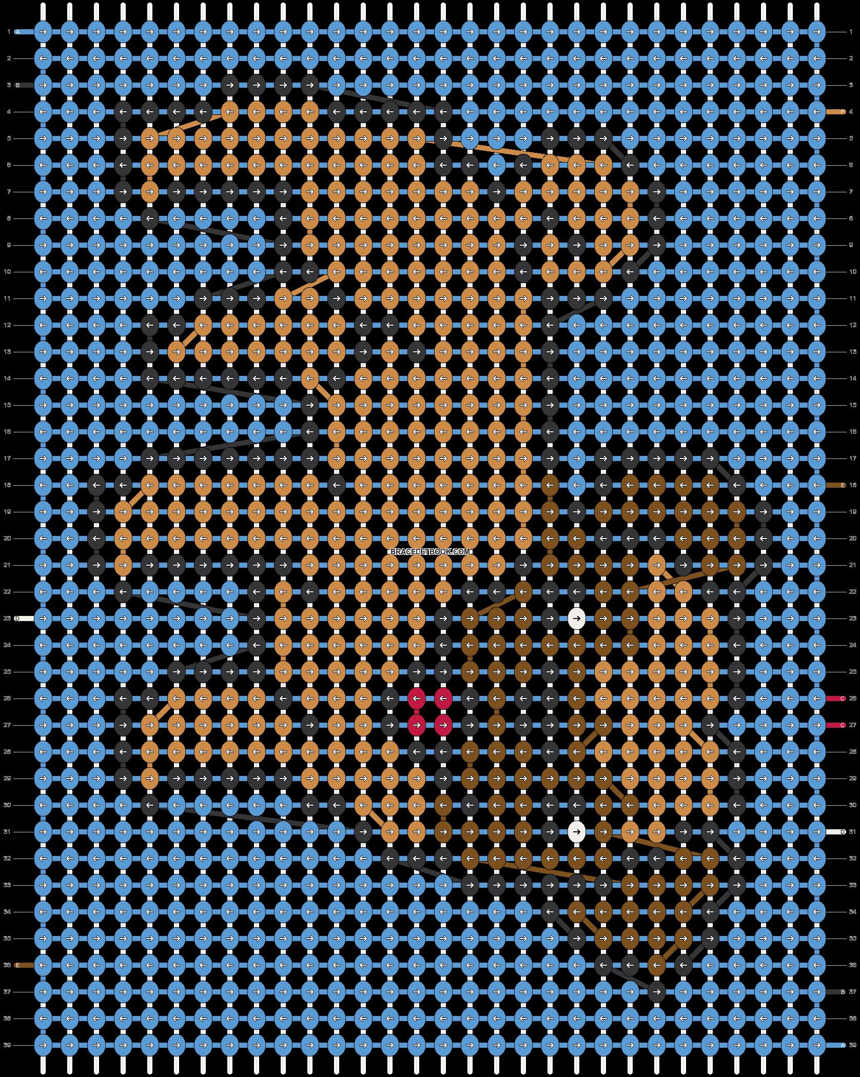 Alpha pattern #54524 pattern