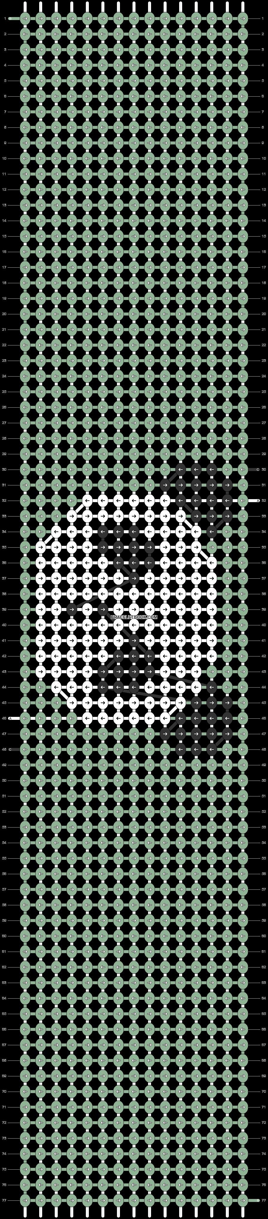 Alpha pattern #54555 pattern
