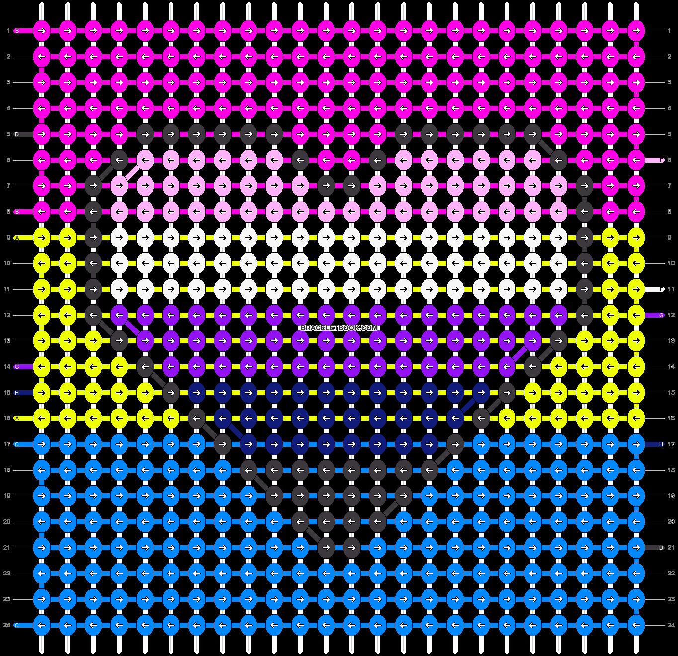 Alpha pattern #54584 pattern