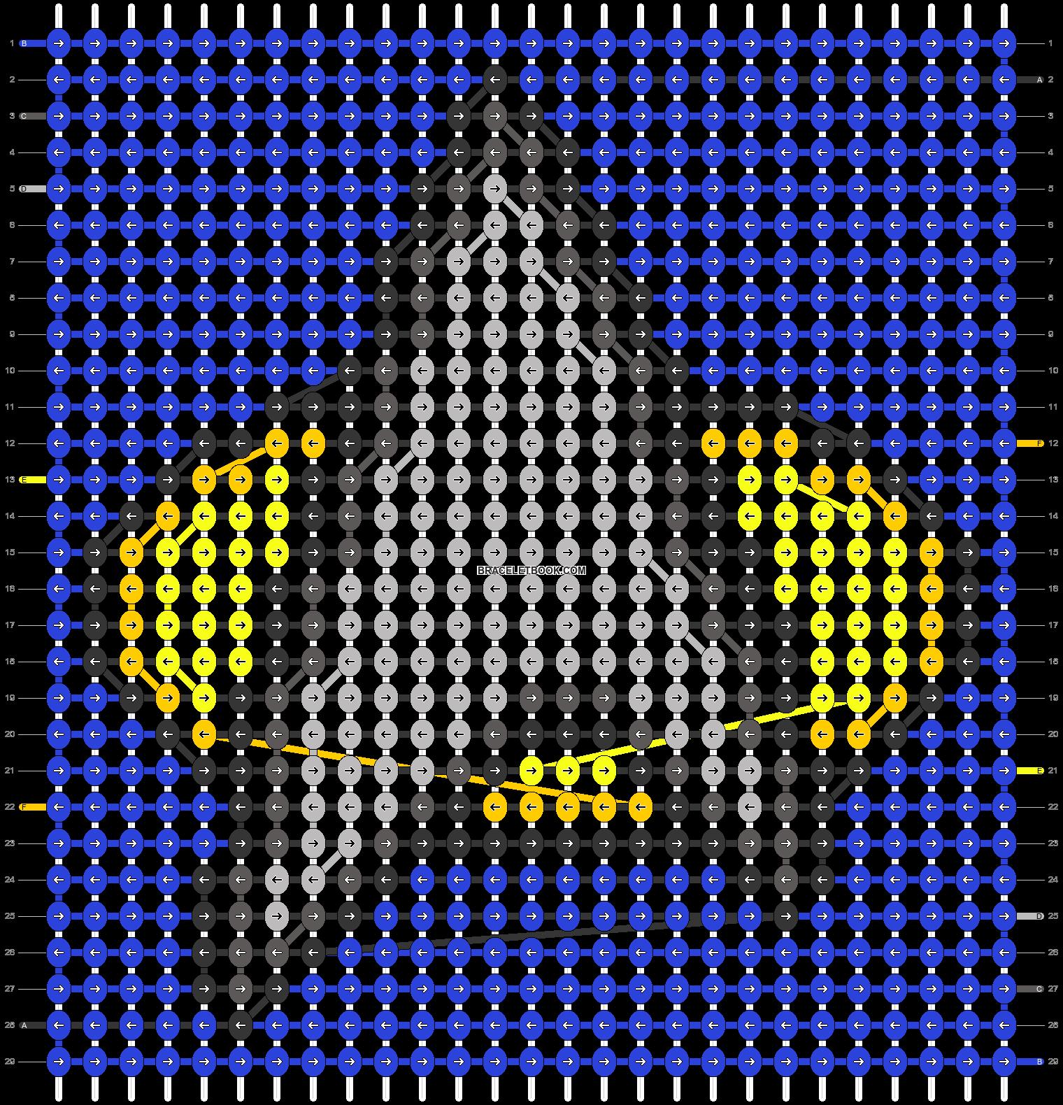 Alpha pattern #54603 pattern