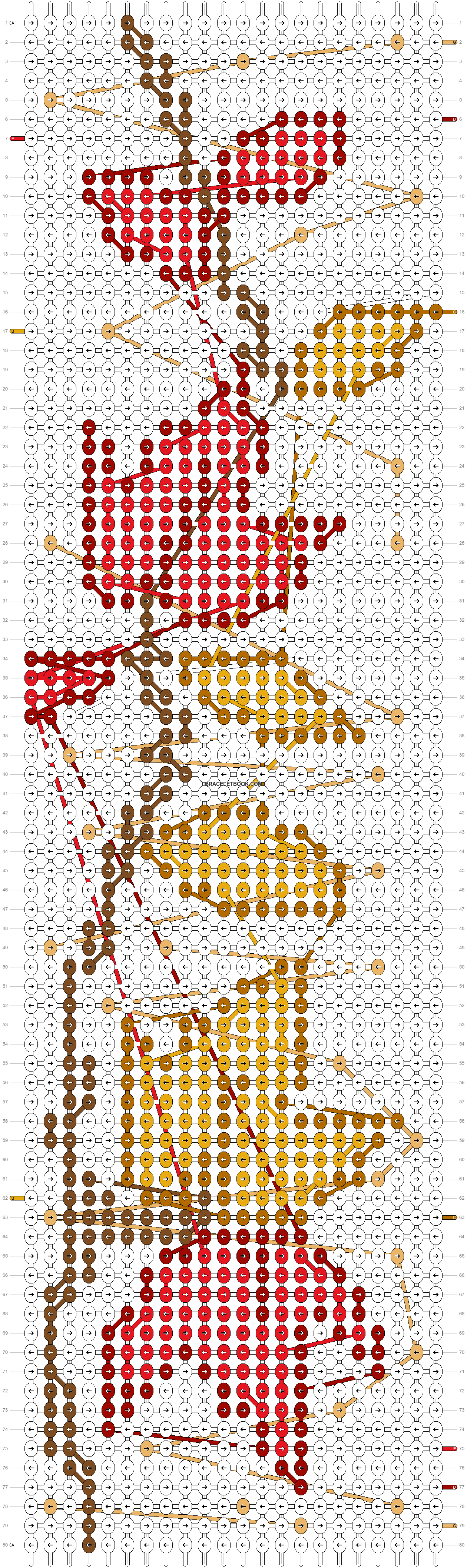 Alpha pattern #54614 pattern