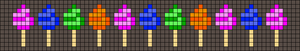 Alpha pattern #54623