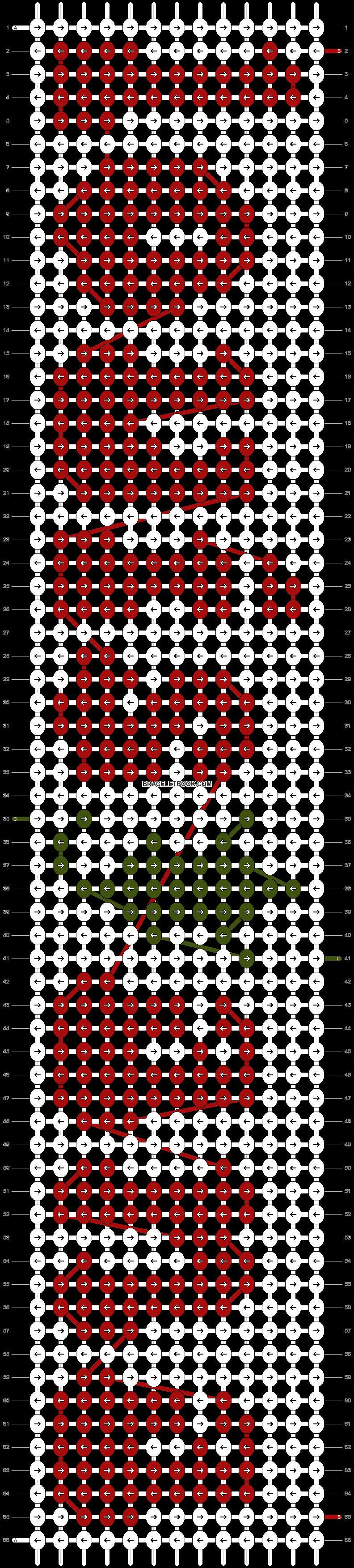 Alpha pattern #54624 pattern