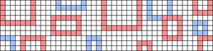 Alpha pattern #54637