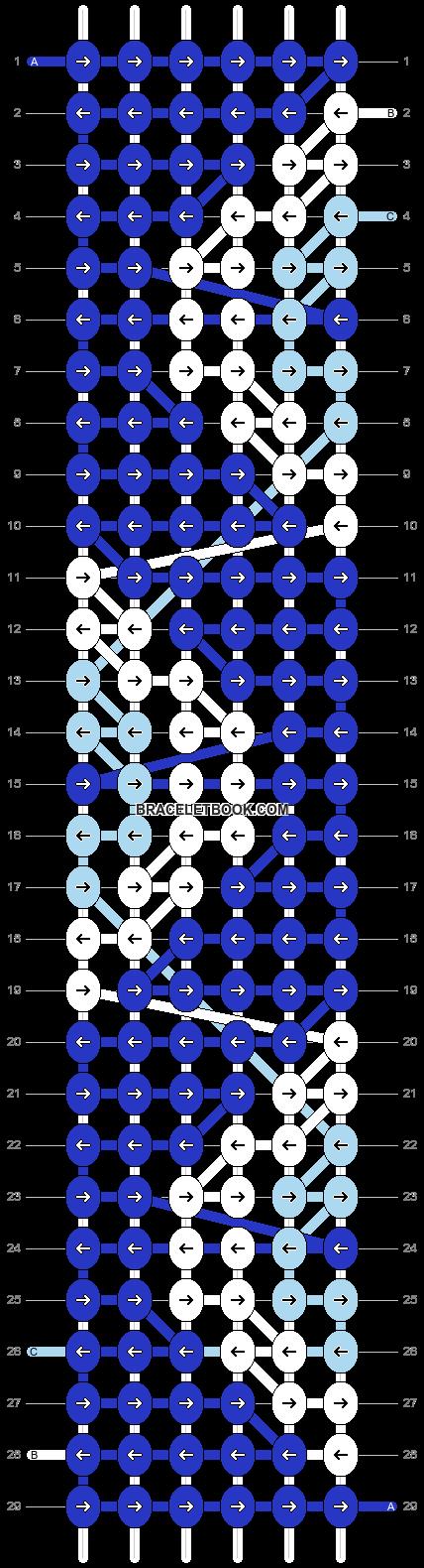 Alpha pattern #54638 pattern