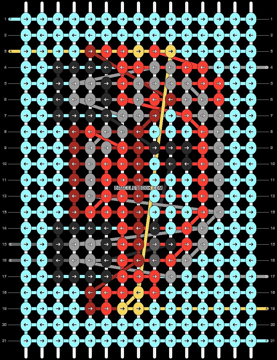 Alpha pattern #54639 pattern