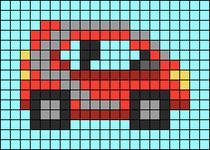 Alpha pattern #54639