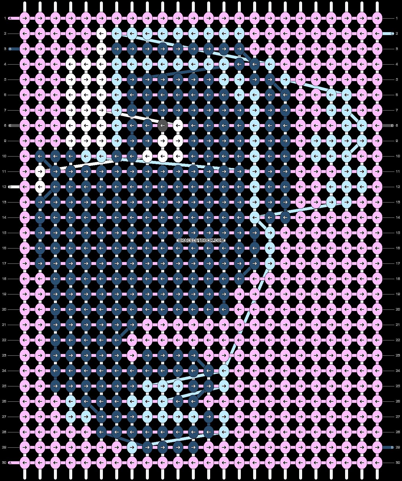 Alpha pattern #54641 pattern