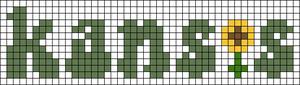 Alpha pattern #54678