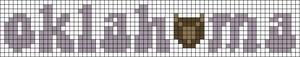 Alpha pattern #54683